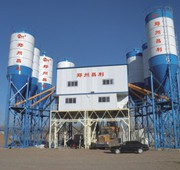 Стационарный бетонный завод HZS240 «Changli» БСУ