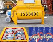 Бетонный миксер JSS «Changli» спиральный 2-х вальный.