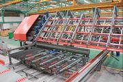 Автоматическая линия для сварки сетки из двух бухт TJK HW-WZD12